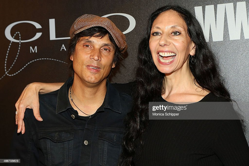 Photographers Inez van Lamsweerde (L) and Vinoodh Matadin attend the 2014 CLIO Image Awards at The Pierre Hotel on May 7, 2014 in New York City.