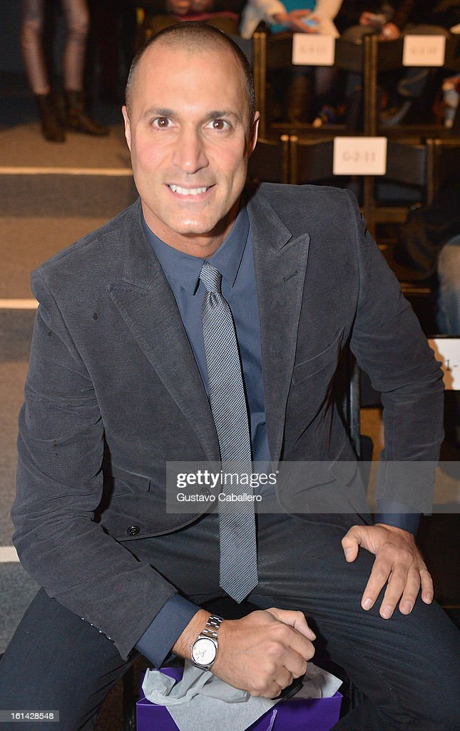 Photographers <a gi-track='captionPersonalityLinkClicked' href=/galleries/search?phrase=Nigel+Barker&family=editorial&specificpeople=691819 ng-click='$event.stopPropagation()'>Nigel Barker</a> attends the Red Carpet Manicure - Exclusive Nails of Noon by Noor at The Studio at Lincoln Center on February 8, 2013 in New York City.
