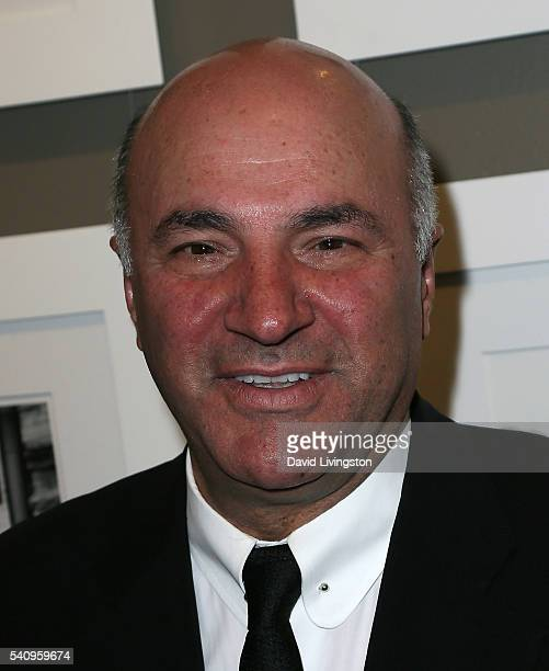 Photographer/TV personality Kevin O'Leary hosts a preview for his photo exhibit 'Irreconcilable Images' at Timothy Yarger Fine Art on June 17 2016 in...
