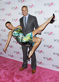 Photographer/TV personality Nigel Barker and wife Cristen Barker attend the 2015 BCRF Awards Gala at The Waldorf=Astoria on October 29 2015 in New...