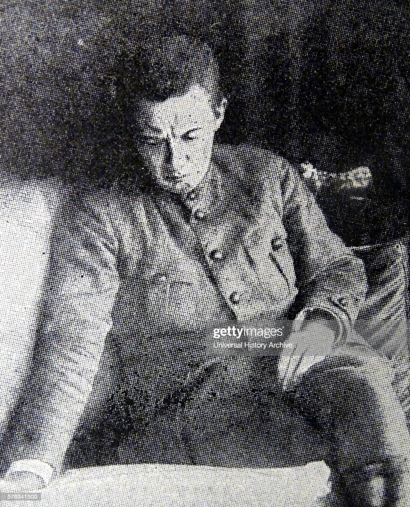 Photographic portrait of Alexander Fyodorovich Kerensky a Russian lawyer politician and second MinisterChairman of the Russian Provisional Government...