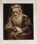 Photographic portrait of Henry Taylor dressed as King David by Julia Margaret Cameron Cameron's photographic portraits are considered among the...
