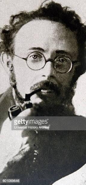 Photographic portrait of Karl Radek an AustrianHungarian Marxist Dated 20th Century