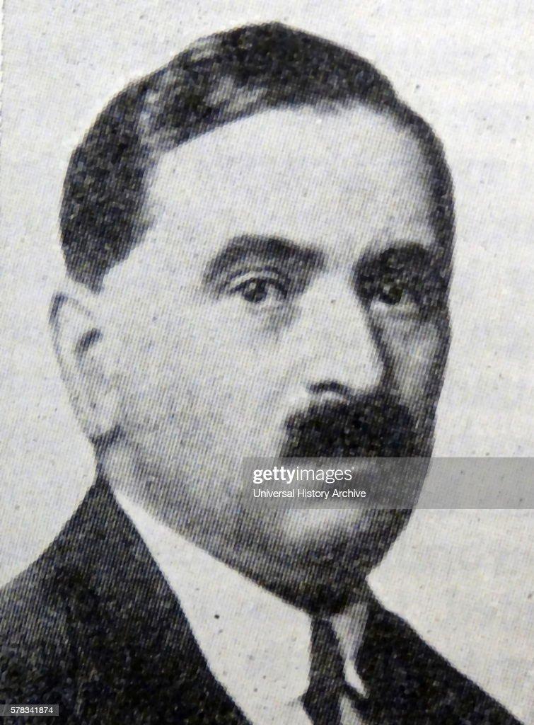 Photographic portrait of Otto Bauer an Austrian Social Democrat Dated 20th Century