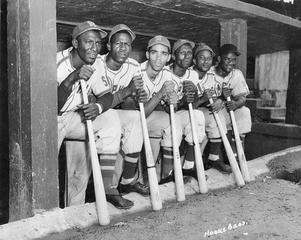 Memphis Red Sox Dugout : News Photo