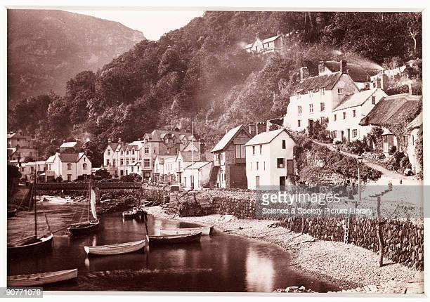 A photographic view of the village of Lynmouth North Devon published by Francis Bedford Co Bedford was a prolific and wellrespected photographer best...