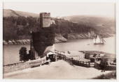 A photographic view published by Francis Bedford Co Construction of Dartmouth Castle was begun in the late fifteenth century by local merchants...