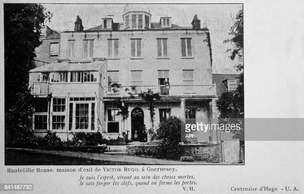 Photographie de la maison d'exil de Victor Hugo à Guernesey
