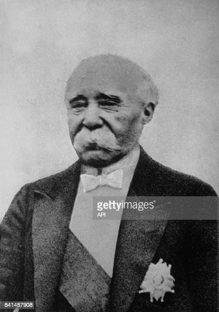 Photographie de l'homme d'Etat Georges Clémenceau