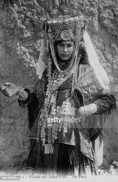 Photographie d'une femme des Ouled Naïl Algérie