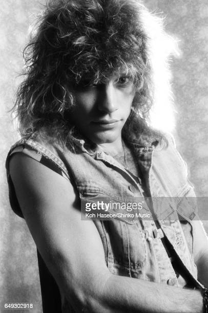 Photographing Jon Bon Jovi in a hotel room August 4th 1984