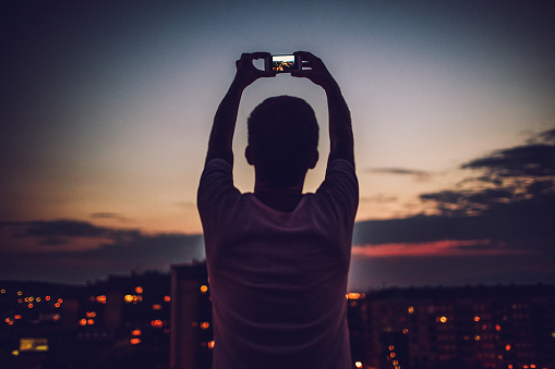 Photographing that perfect time of the day