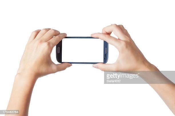 Fotografieren mit einem smartphone