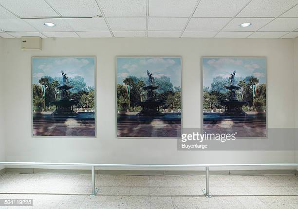 Photographs Angel of the Waters at Federal Office Building New York New York