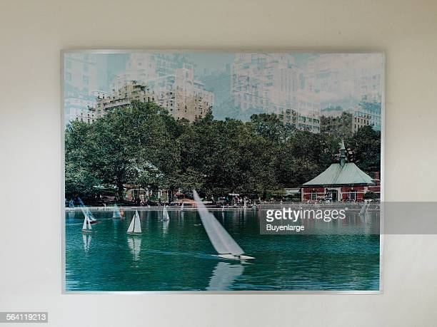 Photographs Conservatory Pond at Federal Office Building New York New York