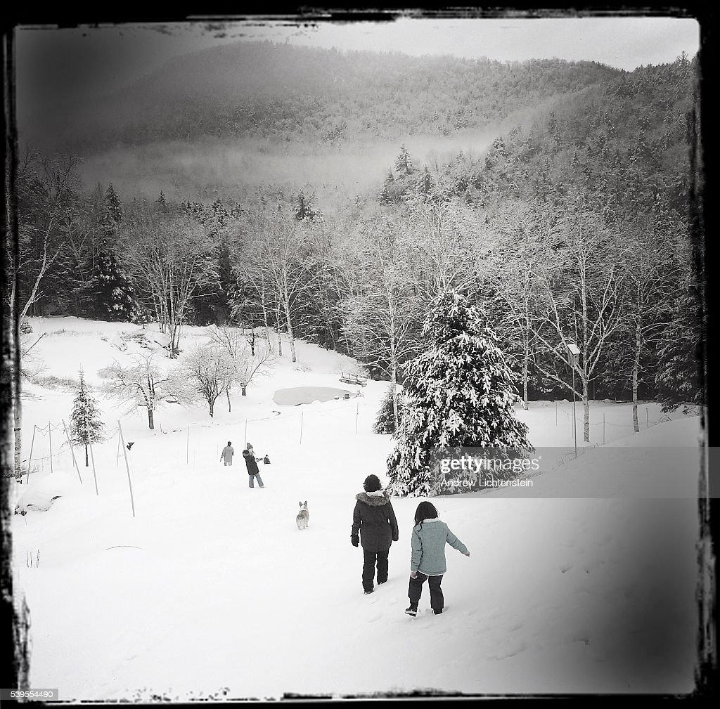 Photographs from New Hampshire's White Mountain National Forest in the winter