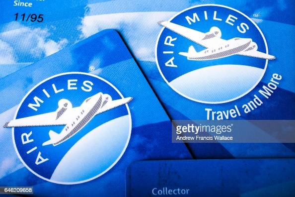 TORONTO ON FEBRUARY 17 Photographs of Air Miles Cards