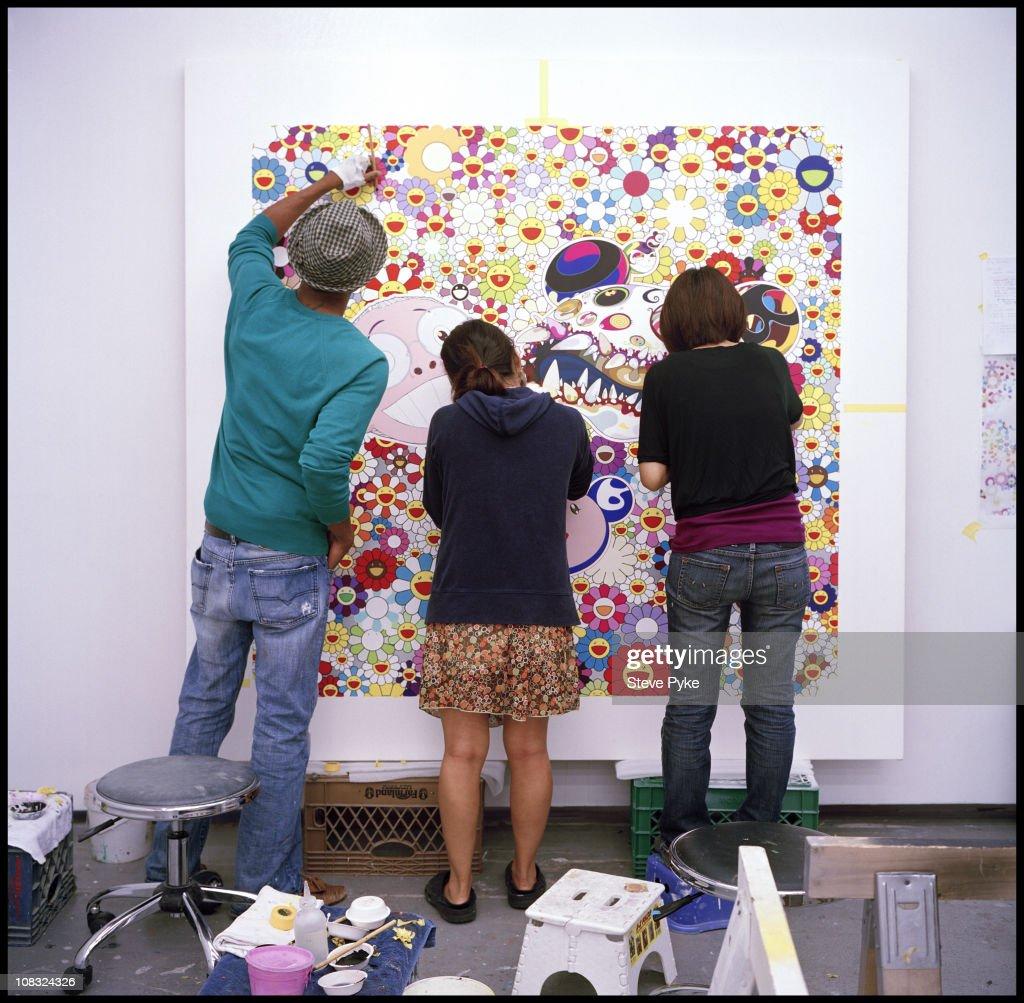 Takashi Murakami's Studio, Guardian, September 6, 2009