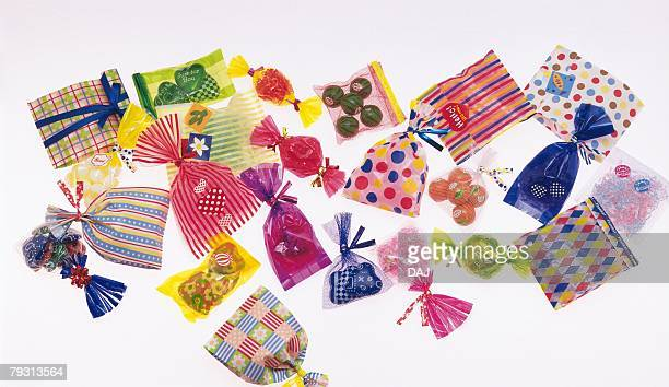 Photography of a bunch of presents, High Angle View