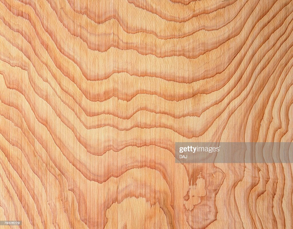 Photography of Japanese cedar wood grain, Close Up