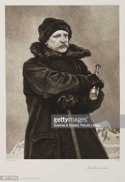 Photogravure after a painting by Rosen Nils Adolf Erik Nordenskjold was born in Helsinki Finland but became a naturalised Swede He made several...