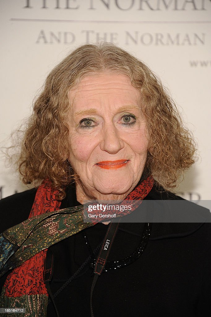 Photojournalist Lisl Steiner attends the 2013 Norman Mailer Center Gala at New York Public Library on October 17, 2013 in New York City.