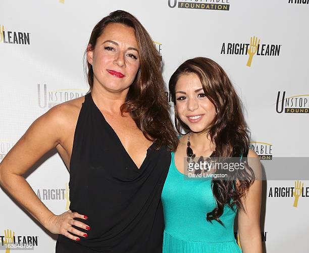 Photojournalist Selma Fonseca and actress Sy Franco attend the 4th Annual Unstoppable Gala at the Beverly Wilshire Four Seasons Hotel on March 16...