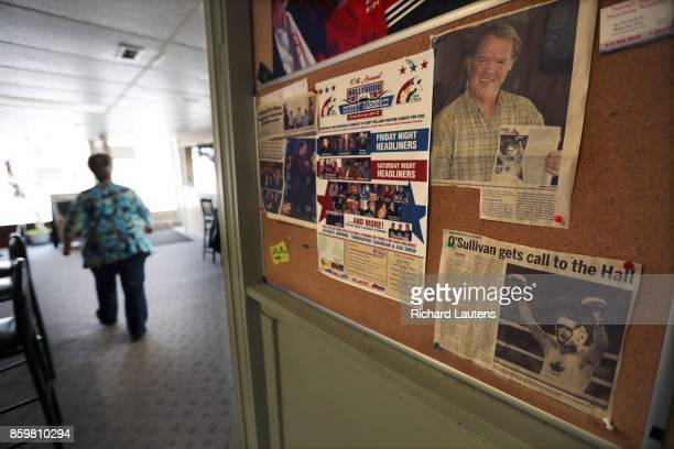 BELLEVILLE ON APRIL 13 Photos and newspaper articles continue to line the notice board in Vic's Place bar Shawn's local hang out Toronto boxer Shawn...