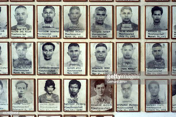 Photos of some of the 84 inmates who were executed by electric chair from 1924 to 1976 and 17 convicts executed by hanging during the same time Since...