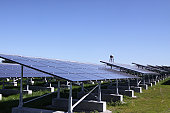 Camp Pendleton is going greener with the use of renewable energy, by developing a photovoltaic system of solar panels. The photovoltaic system uses solar cells to convert light into electricity, gener