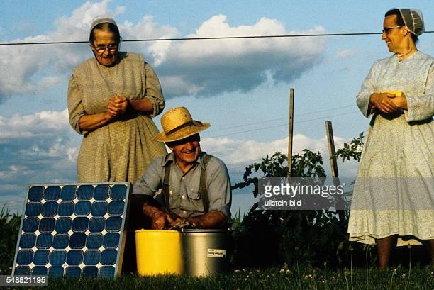 Photovoltaics Solar water pump Mennonites