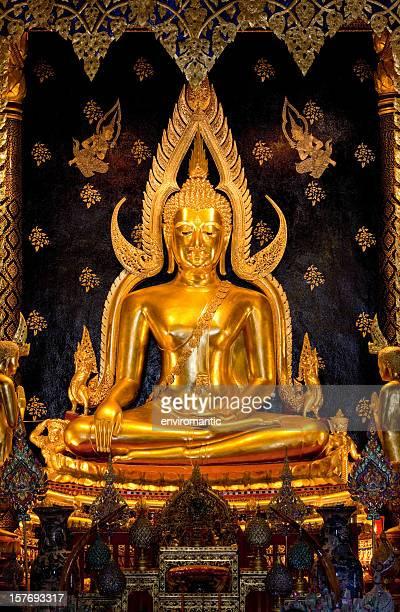 Phra Buddha Chinnarat, Phitsanulok Province, Thailand.