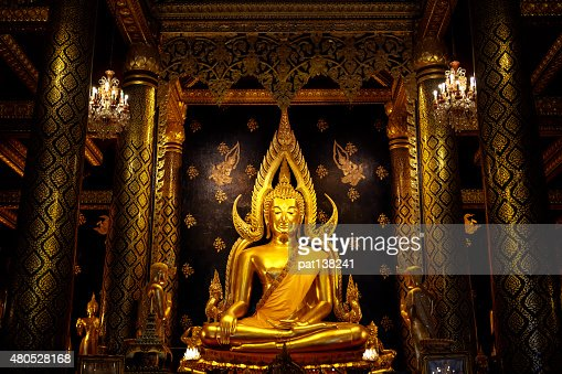 Phra Buddha Chinnarat : Stock Photo