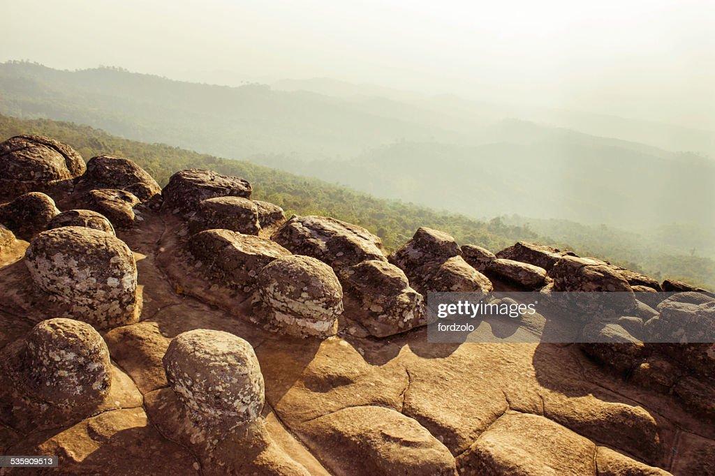 Phuhinrongkla Parque nacional, Tailândia : Foto de stock