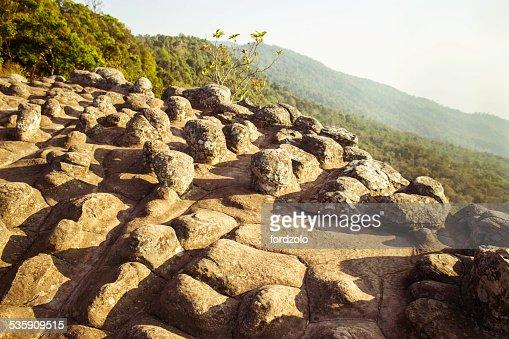Phuhinrongkla National Park, Tailandia : Foto de stock