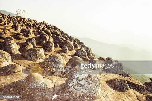 Phuhinrongkla National Park,THAILAND : Stock Photo