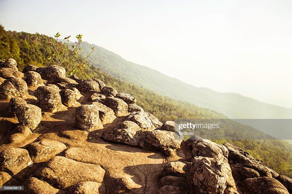 Phuhinrongkla National Park,THAILAND : Stock Photo