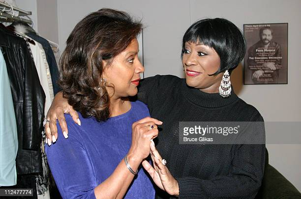 Phylicia Rashad and Patti LaBelle during Broadway Inspirational Voices at Town Hall to Benefit Broadway Cares at Town Hall in New York City New York...