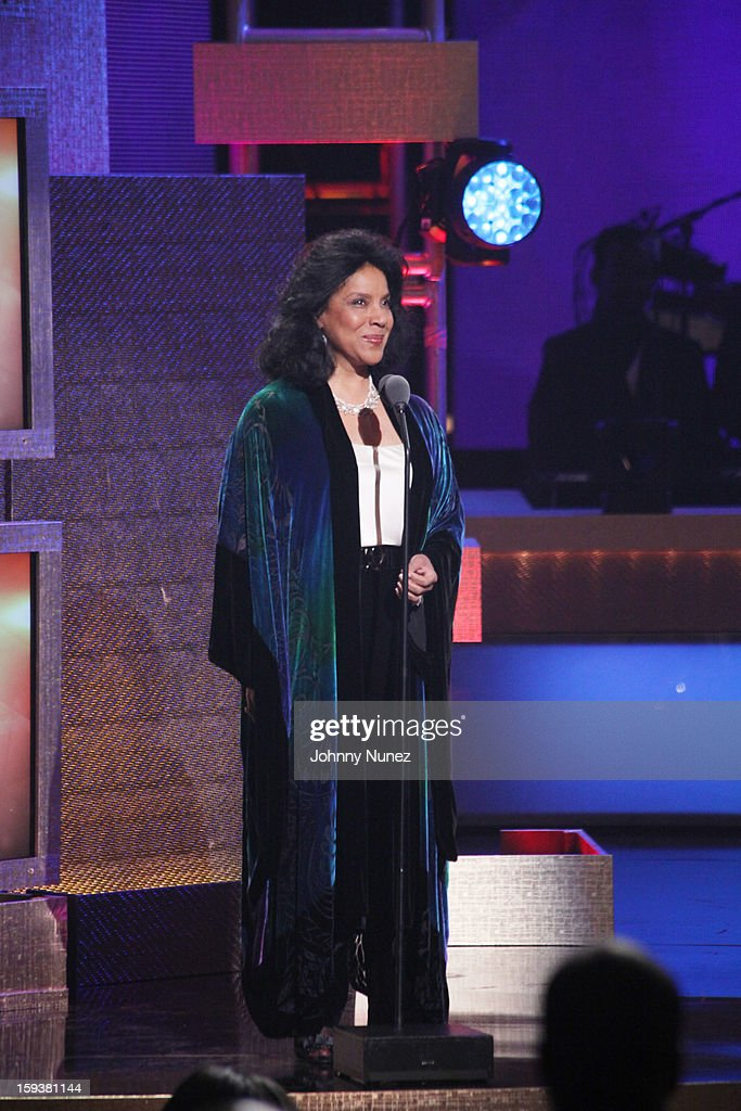 <a gi-track='captionPersonalityLinkClicked' href=/galleries/search?phrase=Phylicia+Rashad&family=editorial&specificpeople=206924 ng-click='$event.stopPropagation()'>Phylicia Rashad</a> attends BET Honors 2013 at Warner Theatre on January 12, 2013 in Washington, DC.