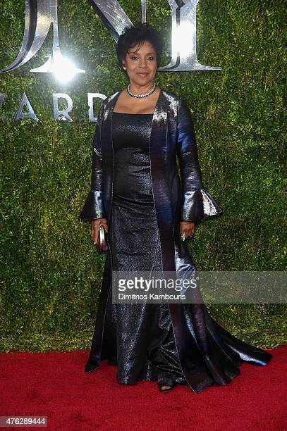 Phylicia Rashad attends the 2015 Tony Awards at Radio City Music Hall on June 7 2015 in New York City