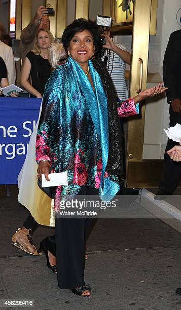 Phylicia Rashad attends the Broadway Opening Night performance of 'You Can't Take It With You' at the Longarce Theatre on September 18 2014 in New...