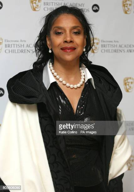 Phylicia Rashad from the Cosby Show arrives at the British Academy Children's Awards at the Hilton Park Lane