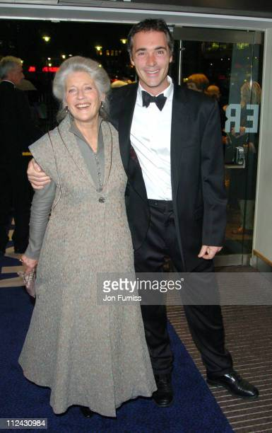 Phyllida Law and Greg Wise during The Times BFI 48th Annual London Film Festival 2004 'Vera Drake' Premiere Inside Arrivals at Odeon Leicester Square...