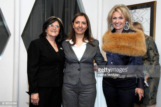 Phyllis Heideman Gila GamlielDemri and Cynthia Ekberg Tsai attend MOMENTUM WOMEN Honor Gila GamlielDemri hosted by Ceslie Armstrong Phyllis Heideman...
