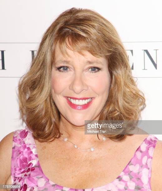 Phyllis Logan arrives at the 'Downton Abbey' photo call held at The Beverly Hilton Hotel on August 6 2013 in Beverly Hills California