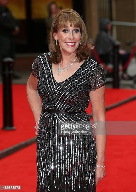 Phyllis Logan attends as BAFTA celebrate 'Downton Abbey' at Richmond Theatre on August 11 2015 in Richmond England