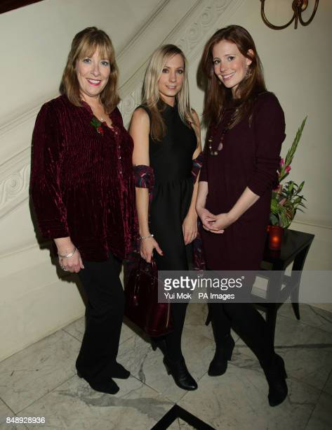 Phyllis Logan Joanne Froggatt and Amy Nuttall attend the press night party for Uncle Vanya at the Charing Cross Hotel in central London