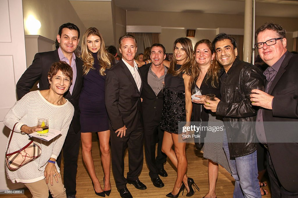 Phyllis Roteman Kurt Rappaport Sarah Mutch Geyer Kosinski Dr Brian Perri Elisabetta Canalis Annie McCarthy Sunil Perkash Bill Kelly attend the...