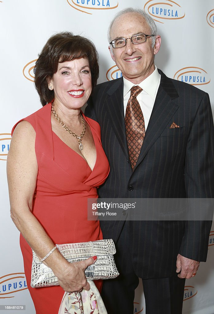 Phyllis Schapira and Dr. Jay Schapira attend Lupus LA Orange Ball at the Beverly Wilshire Four Seasons Hotel on May 9, 2013 in Beverly Hills, California.