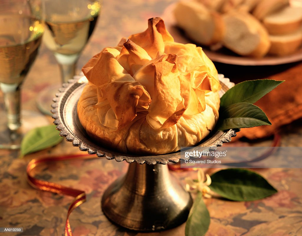 Phyllo Puffed Pastry : Stock Photo